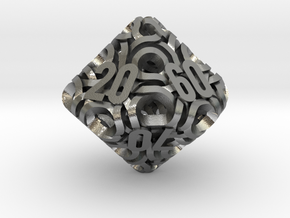 Ring d10 Decader in Natural Silver