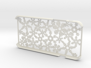 Snowflake iPhone6 4.7inch case  in White Natural Versatile Plastic