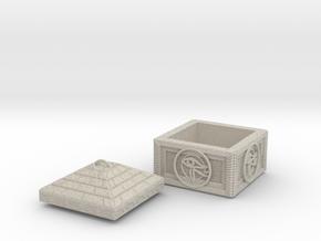 ItemBox in Natural Sandstone