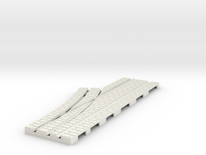 P-9-165st-left-point-1a in White Natural Versatile Plastic