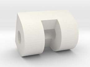 Hasbro R2 Panel Hinge 2 in White Natural Versatile Plastic