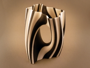 Julia Vase #002 - Yin Yang in Full Color Sandstone