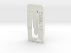 Iphone 5 Case Zwolle in White Natural Versatile Plastic