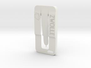 Iphone 5 Case Zwolle in White Natural Versatile Plastic