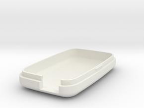 MetaWear Cube Slim Bottom in White Natural Versatile Plastic