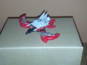 Laserbeak in White Natural Versatile Plastic