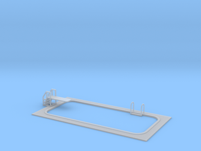 15mm Swimming Pool (Rectangular) in Frosted Ultra Detail