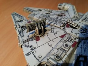 Millennium Falcon Dish  (The Force Awakens)  in Smooth Fine Detail Plastic