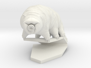 Tardigrade (Water Bear)  in White Natural Versatile Plastic