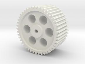 45T20B03 in White Natural Versatile Plastic