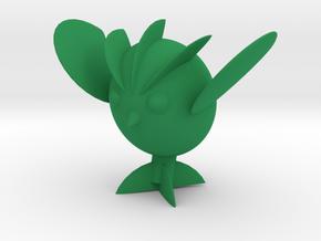 Avocaowl in Green Processed Versatile Plastic