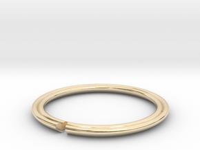 Secret Hidden Heart Ring (Size 9) in 14K Yellow Gold