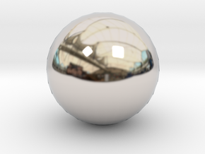 Ball - for bowling alley set in Platinum