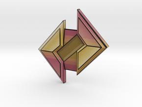 Stone Badge in Full Color Sandstone