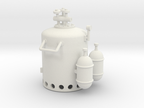 Vosper Smoke Generator 1/35 Scale in White Strong & Flexible