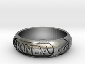 "Honda Tire Size U 1/2 - 63mm 2"" 5/8  in Raw Silver"