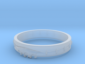 Bleeding Ring in Smooth Fine Detail Plastic