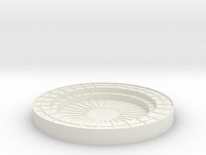 Vosper Twin Oerlikon Bandstand 1/35 Scale in White Natural Versatile Plastic