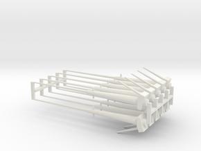 Transit Tube Tips V0.1 in White Natural Versatile Plastic