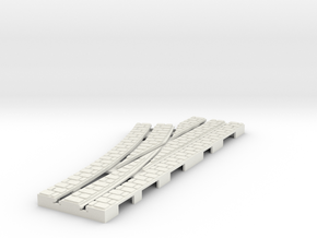 P-9st-left-point-1a in White Natural Versatile Plastic