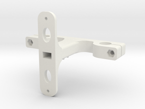 Tarot Gimbal Mount in White Strong & Flexible