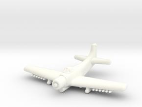 A-1 Skyraider-1/285 Scale (Qty.1) in White Processed Versatile Plastic