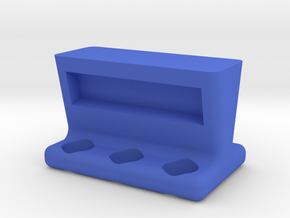 6 Tube Mag Stand in Blue Processed Versatile Plastic