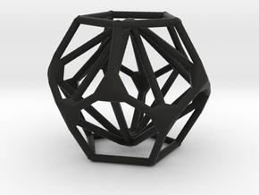 Hosbesgen Pendant in Black Natural Versatile Plastic