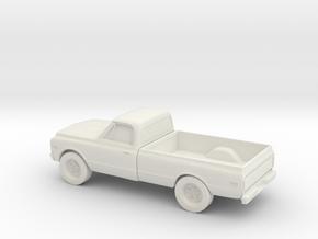 1/87  1972 Chevrolet K-Series PU in White Natural Versatile Plastic