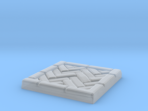 Brick's floor 1x1 in Smooth Fine Detail Plastic
