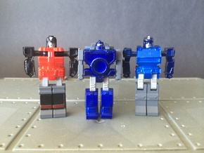 WORLD SMALLEST TRANSFORMERS REFLECTOR in Smooth Fine Detail Plastic