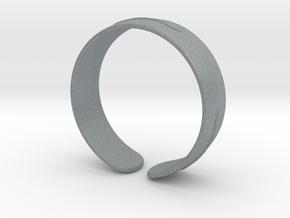 SIMPLE BRACELET in Polished Metallic Plastic