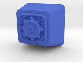 HearthStone Cherry MX Keycap in Blue Processed Versatile Plastic