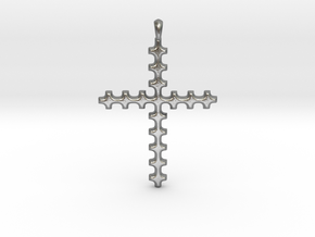 CROSS Cubism Jewelry Pendant in Silver | Gold in Natural Silver