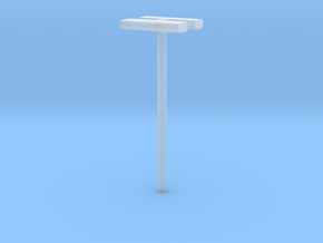 1/160 - DSB Stations lampe (dobbelt) (VIA) in Smooth Fine Detail Plastic
