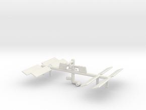 Space Station 3DP in White Natural Versatile Plastic
