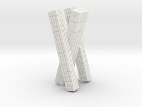INTERSTELLAR VIRGIN CASE / TARS 4inch tall in White Natural Versatile Plastic