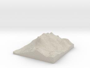 Model of Mount Rushmore Memorial in Natural Sandstone