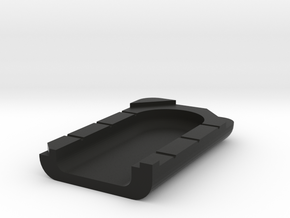 Key Casting Clam Shell in Black Natural Versatile Plastic
