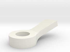 F3P Removable Wing Eyelet in White Natural Versatile Plastic