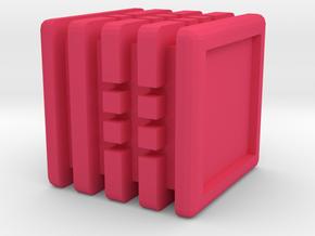 Dice95 in Pink Processed Versatile Plastic
