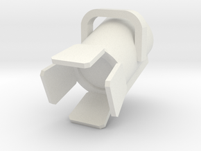 1:48 10K Fresnel in White Natural Versatile Plastic