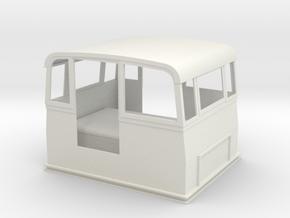 Victorian Railways narrow gauge Whitfield Trolley  in White Natural Versatile Plastic