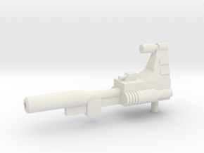 TW Slag G1 Gun in White Natural Versatile Plastic