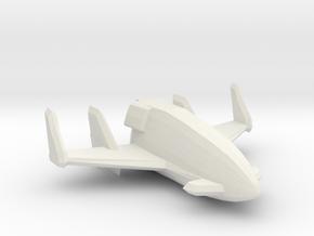 Cobra Firebat 1/144 in White Natural Versatile Plastic