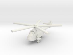 1/285 Westland Sea King AEW.2 in White Natural Versatile Plastic