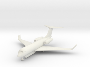 1/285 Gulfstream G550 SEMA in White Natural Versatile Plastic