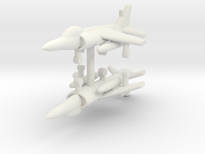 1/285 FA.2 Sea Harrier (x2) in White Strong & Flexible