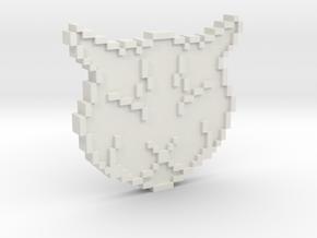 Ulysses Token in White Natural Versatile Plastic