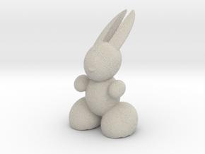 Rabbit Robot in Natural Sandstone